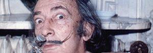 Salvador Dali en 1972 crop