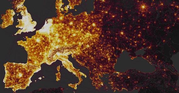 El mapa de Strava que contiene información de miles de personas y que puede destapar mucha información