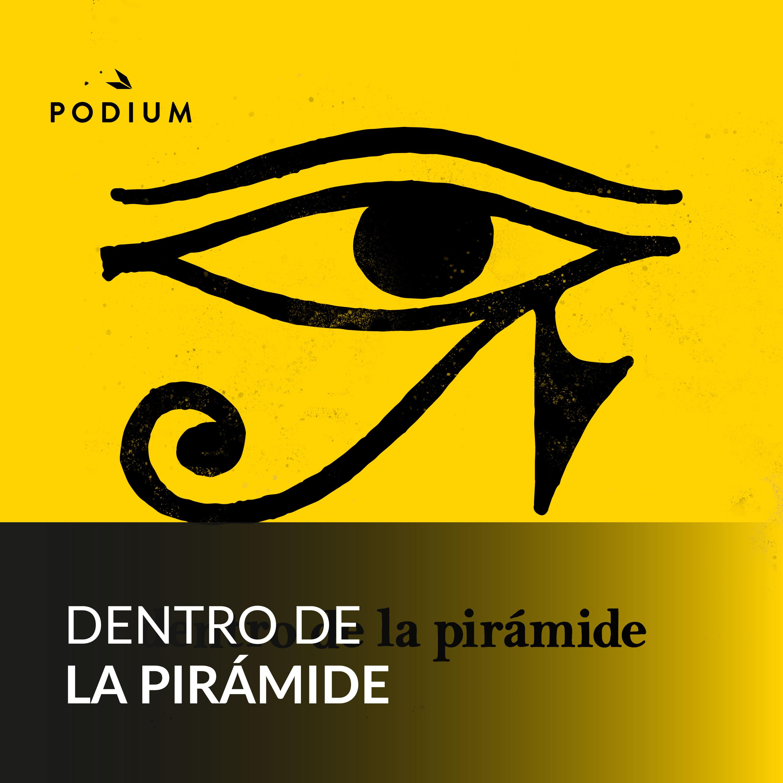 Dentro de la pirámide