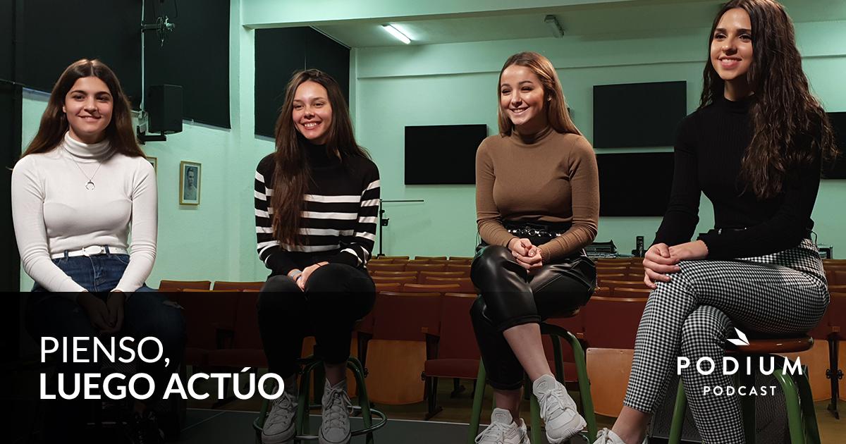 T02E05 – When&Where, una app creada por adolescentes para volver a casa sin miedo   Pienso, luego actúo   Temporada 02   Podium Podcast