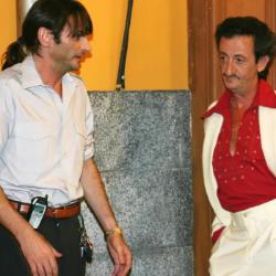 Emilio y Mariano, que por cierto era metrosexual