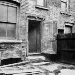 Patio trasero del n.º 29 de Hanbury Street, donde Annie Chapman fue asesinada