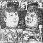 Annie Chapman, drawing from 'The Illustrated Police News'